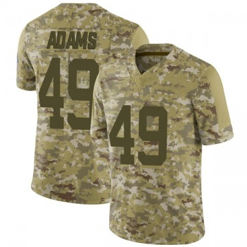 Youth Nike Indianapolis Colts Matthew Adams Camo 2018 Salute to Service Jersey - Limited