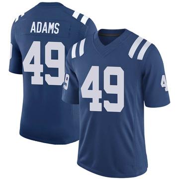 Youth Nike Indianapolis Colts Matthew Adams Royal 100th Vapor Jersey - Limited
