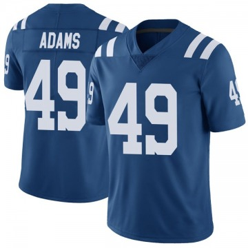 Youth Nike Indianapolis Colts Matthew Adams Royal Color Rush Vapor Untouchable Jersey - Limited