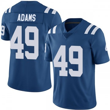 Youth Nike Indianapolis Colts Matthew Adams Royal Team Color Vapor Untouchable Jersey - Limited