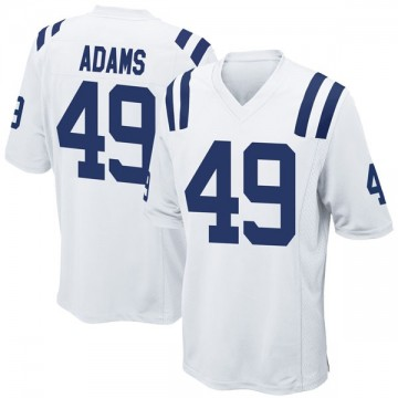 Youth Nike Indianapolis Colts Matthew Adams White Jersey - Game