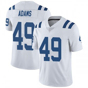 Youth Nike Indianapolis Colts Matthew Adams White Vapor Untouchable Jersey - Limited