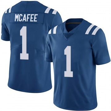 Youth Nike Indianapolis Colts Pat McAfee Royal Team Color Vapor Untouchable Jersey - Limited