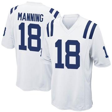 Youth Nike Indianapolis Colts Peyton Manning White Jersey - Game