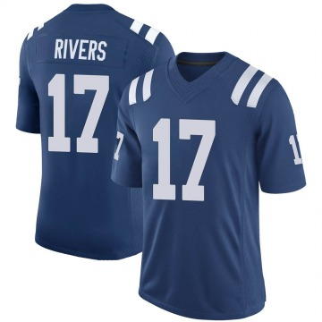 Youth Nike Indianapolis Colts Philip Rivers Royal 100th Vapor Jersey - Limited