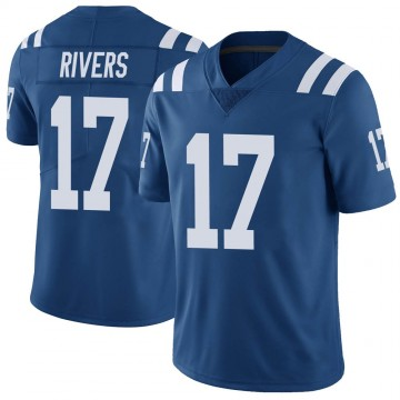 Youth Nike Indianapolis Colts Philip Rivers Royal Color Rush Vapor Untouchable Jersey - Limited