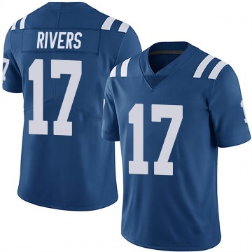 Youth Nike Indianapolis Colts Philip Rivers Royal Team Color Vapor Untouchable Jersey - Limited