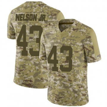 Youth Nike Indianapolis Colts Picasso Nelson Jr. Camo 2018 Salute to Service Jersey - Limited