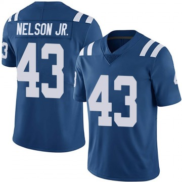Youth Nike Indianapolis Colts Picasso Nelson Jr. Royal Team Color Vapor Untouchable Jersey - Limited