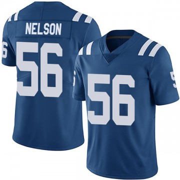 Youth Nike Indianapolis Colts Quenton Nelson Royal Team Color Vapor Untouchable Jersey - Limited