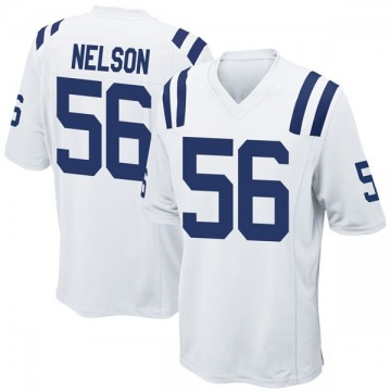Youth Nike Indianapolis Colts Quenton Nelson White Jersey - Game