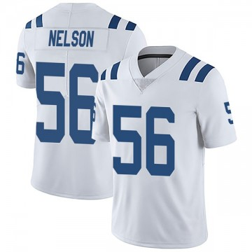 Youth Nike Indianapolis Colts Quenton Nelson White Vapor Untouchable Jersey - Limited