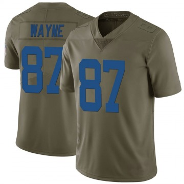 Youth Nike Indianapolis Colts Reggie Wayne Green 2017 Salute to Service Jersey - Limited
