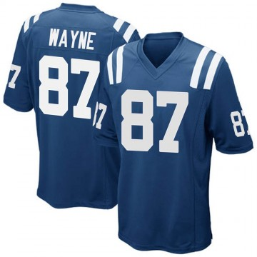 Youth Nike Indianapolis Colts Reggie Wayne Royal Blue Team Color Jersey - Game