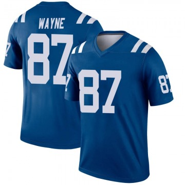 Youth Nike Indianapolis Colts Reggie Wayne Royal Inverted Jersey - Legend