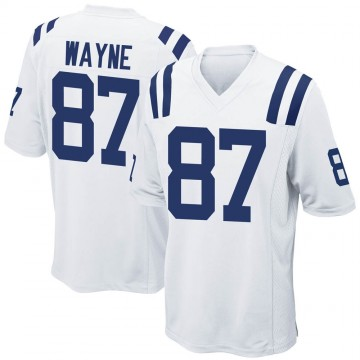 Youth Nike Indianapolis Colts Reggie Wayne White Jersey - Game