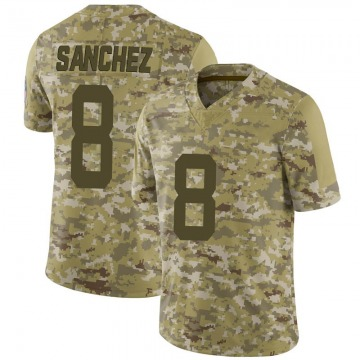 Youth Nike Indianapolis Colts Rigoberto Sanchez Camo 2018 Salute to Service Jersey - Limited