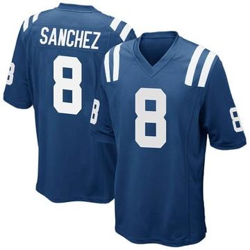 Youth Nike Indianapolis Colts Rigoberto Sanchez Royal Blue Team Color Jersey - Game