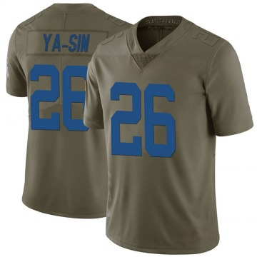 Youth Nike Indianapolis Colts Rock Ya-Sin Green 2017 Salute to Service Jersey - Limited
