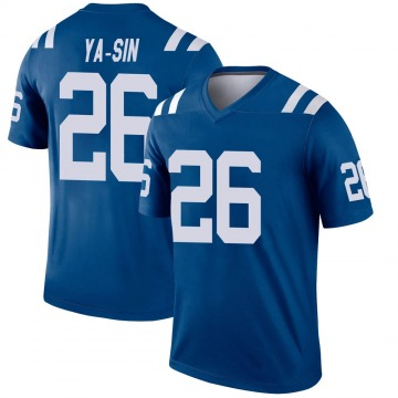 Youth Nike Indianapolis Colts Rock Ya-Sin Royal Jersey - Legend