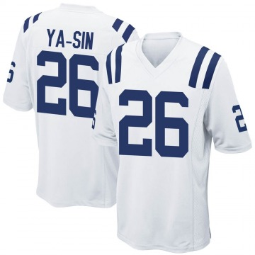 Youth Nike Indianapolis Colts Rock Ya-Sin White Jersey - Game