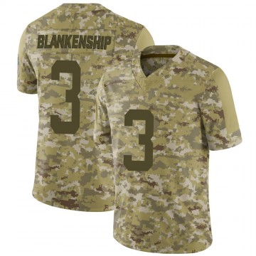 Youth Nike Indianapolis Colts Rodrigo Blankenship Camo 2018 Salute to Service Jersey - Limited