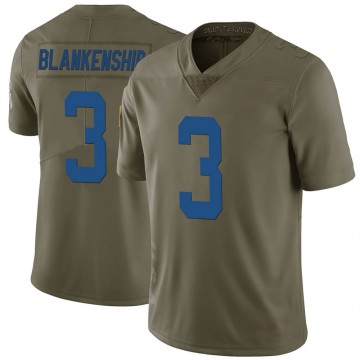 Youth Nike Indianapolis Colts Rodrigo Blankenship Green 2017 Salute to Service Jersey - Limited