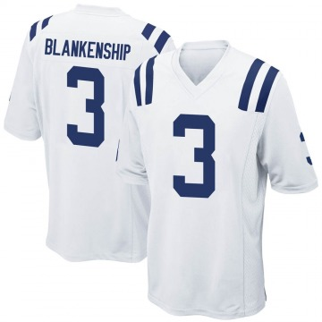Youth Nike Indianapolis Colts Rodrigo Blankenship White Jersey - Game
