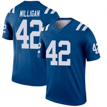 Youth Nike Indianapolis Colts Rolan Milligan Royal Inverted Jersey - Legend
