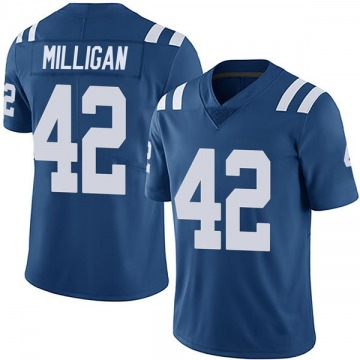 Youth Nike Indianapolis Colts Rolan Milligan Royal Team Color Vapor Untouchable Jersey - Limited