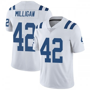 Youth Nike Indianapolis Colts Rolan Milligan White Vapor Untouchable Jersey - Limited
