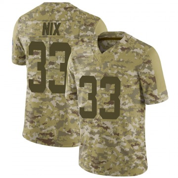 Youth Nike Indianapolis Colts Roosevelt Nix Camo 2018 Salute to Service Jersey - Limited