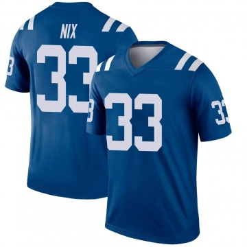 Youth Nike Indianapolis Colts Roosevelt Nix Royal Jersey - Legend