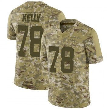 Youth Nike Indianapolis Colts Ryan Kelly Camo 2018 Salute to Service Jersey - Limited