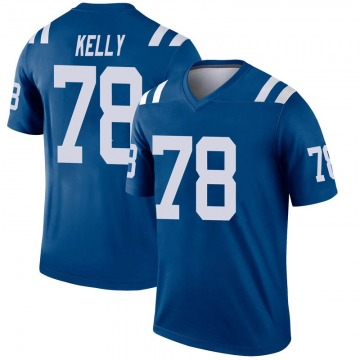 Youth Nike Indianapolis Colts Ryan Kelly Royal Inverted Jersey - Legend