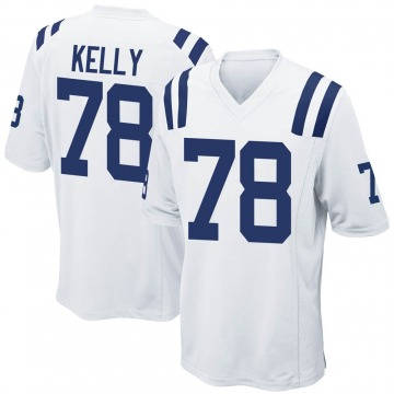 Youth Nike Indianapolis Colts Ryan Kelly White Jersey - Game