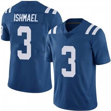 Youth Nike Indianapolis Colts Steve Ishmael Royal Team Color Vapor Untouchable Jersey - Limited