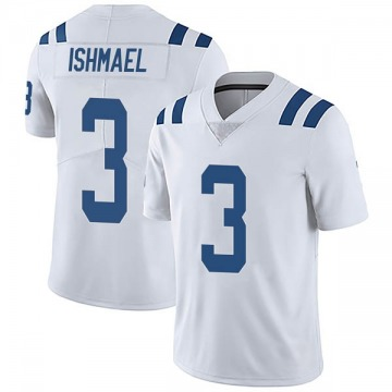 Youth Nike Indianapolis Colts Steve Ishmael White Vapor Untouchable Jersey - Limited