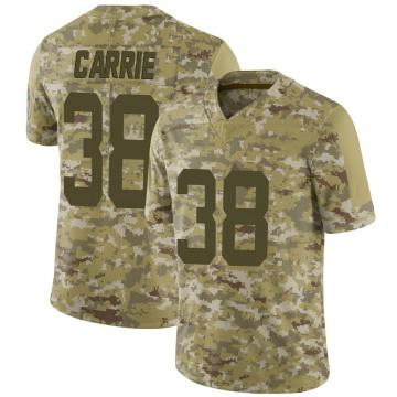 Youth Nike Indianapolis Colts TJ Carrie Camo 2018 Salute to Service Jersey - Limited