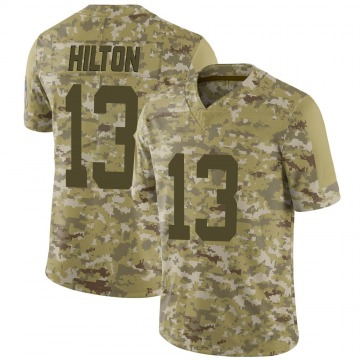 Youth Nike Indianapolis Colts T.Y. Hilton Camo 2018 Salute to Service Jersey - Limited