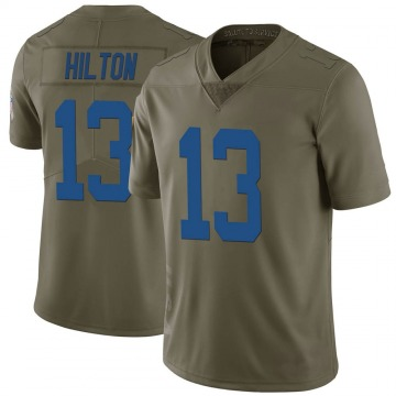 Youth Nike Indianapolis Colts T.Y. Hilton Green 2017 Salute to Service Jersey - Limited