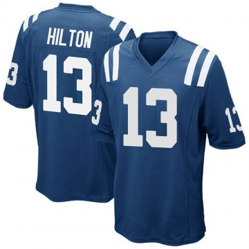 Youth Nike Indianapolis Colts T.Y. Hilton Royal Blue Team Color Jersey - Game