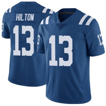 Youth Nike Indianapolis Colts T.Y. Hilton Royal Color Rush Vapor Untouchable Jersey - Limited