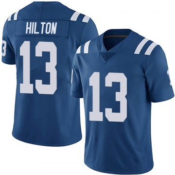 Youth Nike Indianapolis Colts T.Y. Hilton Royal Team Color Vapor Untouchable Jersey - Limited