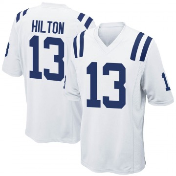 Youth Nike Indianapolis Colts T.Y. Hilton White Jersey - Game