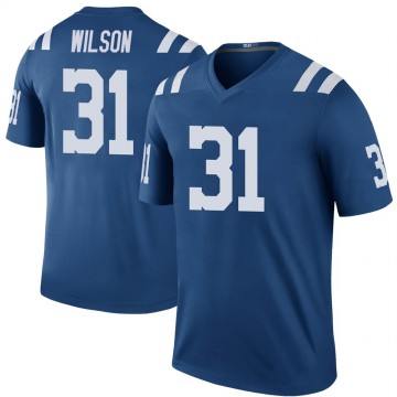 Youth Nike Indianapolis Colts Tavon Wilson Royal Color Rush Jersey - Legend