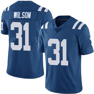 Youth Nike Indianapolis Colts Tavon Wilson Royal Team Color Vapor Untouchable Jersey - Limited