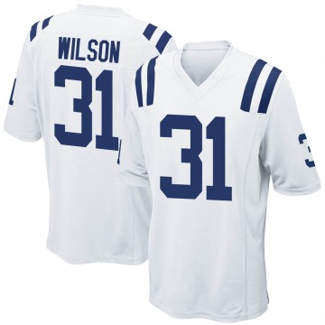 Youth Nike Indianapolis Colts Tavon Wilson White Jersey - Game