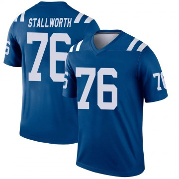 Youth Nike Indianapolis Colts Taylor Stallworth Royal Jersey - Legend