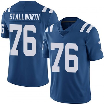 Youth Nike Indianapolis Colts Taylor Stallworth Royal Team Color Vapor Untouchable Jersey - Limited